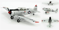 "USAAF North American LT-6G Texan Tactical Control Aircraft - X-524, ""Night Train"", 6148 Tactical Control Squadron (Airborne), LTA-542, Korea, 1953"