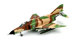 Israeli McDonnell F-4E Phantom II (Kurnass) Fighter-Bomber - 08, 201 Squadron The One, Hatzor AFB, November 11th, 1969