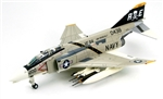 US Navy McDonnell F-4B Phantom II Fighter-Bomber - VF-84, Jolly Rogers, CVW-19 CAG Bird, USS Franklin Roosevelt (CV-42)