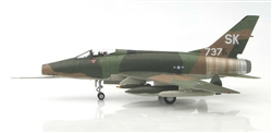 "USAF North American F-100C Super Sabre Fighter - SK-737 ""Miss Mynookie"", 188th Tactical Fighter Squadron ""The Tacos"" New Mexico ANG, Tuy Hoa AB, South Vietnam, 1968"