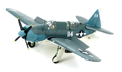 USN Curtiss SB2C-4 Helldiver ASW Aircraft - White 114, VB-3, USS Yorktown (CV-10), Late 1944