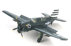 "USN Curtiss SB2C-4 Helldiver ASW Aircraft - VB-12, ""White 15,"" USS Randolph (CV-15), February 1945"