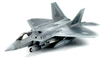 USAF Lockheed-Martin F-22 Air Dominance Fighter - 27th Fighter Squadron, Langley Air Force Base, Virginia, May 12th, 2005 [Low-Vis Scheme]