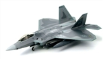USAF Lockheed-Martin F-22 Air Dominance Fighter - 302nd Fighter Squadron, Elmendorf Air Force Base, Alaska [Low-Vis Scheme]