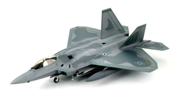 USAF Lockheed-Martin F-22 Raptor Air Dominance Fighter - 43rd Fighter Squadron, The Air Education and Training Command, Tyndall AFB, Florida, July 2006 [Low-Vis Scheme]