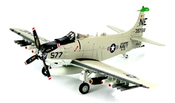 USN Douglas A-1H Skyraider Attack Aircraft - Clint Johnson, VA-25 Fist of the Fleet, USS Midway (CV-41), 1964