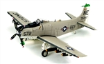 USN Douglas A-1H Skyraider Attack Aircraft - Paper Tiger II, VA-25 Fist of the Fleet, USS Midway (CV-41)