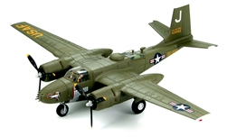 US Air Force Douglas B-26B Invader Light Attack Bomber - Brown Nose, 731st Bomb Squadron, 452nd Bomb Wing, Iwakuni Air Base, Korea, Early 1951