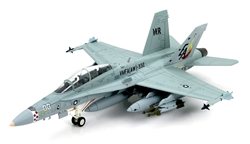 USMC McDonnell Douglas F/A-18D Hornet Strike Fighter - BuNo.164967, VMFA(AW)-332 Moonlighters, February 2007 [Low-Vis Scheme]