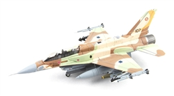 "Israeli Defense Force General Dynamics F-16I Sufa Fighter - 107 Squadron ""Knights of the Orange Tail"", Etzion AB, July 2006"