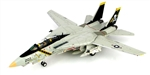"US Navy Grumman F-14A Tomcat Fleet Defense Fighter - VF-84 ""Jolly Rogers,"" 1986"
