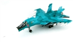 "Russian Sukhoi Su-34 ""Fullback"" Strike Fighter - ""Bort #10"", Oleg Peshkov Commemorative Scheme, August 2017"