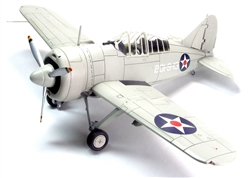 USN Brewster F2A-2 Buffalo Fighter - VS-201, USS Long Island (CVE-1), AVG-1, 1941