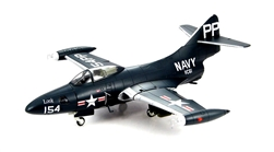 US Navy Grumman F9F-2P Panther Photo Reconnaissance Aircraft - VC-61, PP/154, Look, USS Essex (CV-9), 1951