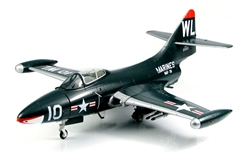 USMC Grumman F9F-5 Panther Fighter - Captain Ted Williams, VMF-311, Marine Aircraft Group 33 (MAG-33), Based at K-3 Airfield, Pohang, Korea, 1953