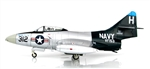 "US Navy Grumman F9F-5 Panther Fighter - ""The Blue Tail Fly"", VF-153 ""Blue Tail Flies"", USS Princeton (CVL-23), 1953"