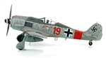 "German Focke-Wulf Fw 190A Fighter - 5./Jagdgeschwader 300, ""Red 19"", Ernst Schroder, Germany, 1944"