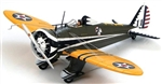 USAAC Boeing P-26A Peashooter Fighter - 34th Pursuit Squadron, 17th Pursuit Group, March Field, CA, 1941