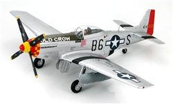 "USAAF North American P-51D Mustang Fighter - Old Crow, C.E. ""Bud"" Anderson, 357th Fighter Group, France, 1944 [Signature Edition]"