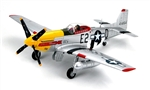 USAAF North American P-51D Mustang Fighter - Detroit Miss, Ft. Lieutenant Urban Drew, 375th Fighter Squadron, 361st Fighter Group, France, 1944