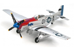 USAAF North American P-51D Mustang Fighter - DoDo, Cpt. Clinton Burdick, 361st Fighter Squadron, 356th Fighter Group, England, 1944 [Signature Edition]