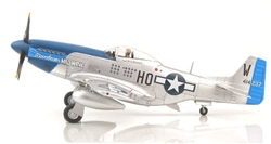"USAAF North American P-51D Mustang Fighter - ""Moonbeam  McSwine"", 487th Fighter Squadron ""Blue Nosed Bastards of Bodney"", 352nd Fighter Group, September 1944"