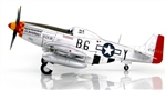 "USAAF North American P-51D Mustang Fighter - Chuck Yeager, ""Glamorous Glenn III,"" 363rd Fighter Squadron, 357th Fighter Group, November 1944"