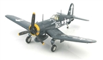 USMC Chance-Vought F4U-1D Corsair Fighter - Lt. Dean Caswell, VMF-221, USS Bunker Hill (CV-17), 1945