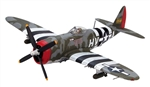 USAAF P-47D Thunderbolt Fighter - Francis Gabreski, 61st Fighter Squadron, 56th Fighter Group, June 1944