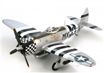 "USAAF Republic P-47D Thunderbolt Fighter - Lt Col Benjamin Mayo, ""No Guts No Glory"", 82nd Fighter Squadron, 78th Fighter Group, Duxford Air Base, 1944"