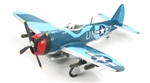 "USAAF Republic P-47M Thunderbolt Fighter - Maj. George Bostwick, ""Ugly Duckling,"" 63rd Fighter Squadron, 56th Fighter Group, RAF Boxted, England, 1945"