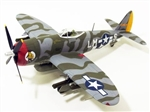 "USAAF Republic P-47D Thunderbolt Fighter - CO. Col. David Schilling, ""Hairless Joe"", 56th Fighter Group,  England, June 1944"