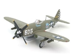 "USAAF Republic P-47D Thunderbolt Fighter - ""Oh Johnnie,"" 1st Lt. Raymond Knight, 346th Fighter Squadron, 350th Fighter Group, Pisa, Italy, 1945"