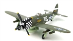 USAAF Republic P-47D Thunderbolt Fighter - 84th Fighter Squadron, 78th Fighter Group, England, Autumn 1944