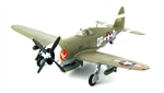USAAF Republic P-47D Thunderbolt Fighter - Col. Steve Pisanos, 334th Fighter Squadron, 4th Fighter Group, England [Signature Edition]