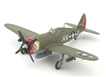 USAAF Republic P-47D Thunderbolt Fighter - Lt. Frank Klibbe, 61st Fighter Squadron, 56th Fighter Group, Halesworth, England, March 1944