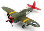 "USAAF Republic P-47D Thunderbolt Fighter - 332nd Fighter Group ""Tuskegee Airmen,"" Italy, 1944"