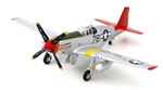 "USAAF North American P-51B/C Mustang Fighter - Col. Charles McGee, ""Kitten,"" 302nd Fighter Squadron, 332nd Fighter Group ""Tuskegee Airmen"", Ramitelli, Italy, 1944 [Signature Edition]"