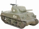 US M4 Sherman Medium Tank - Team OHara, Combat Command B, 10th Armored Division, Battle of the Bulge, 1944