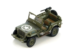 "US Willys Jeep with .30 Cal. Machine Gun - ""Short Stop"", 88th Infantry Division, 351st Infantry Regiment, Italy 1944 - 1945"