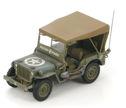 "US Willys 1/4 Ton Jeep - ""C"" Company, 101st Military Police Battalion, 5th Army, Italy, 1945"
