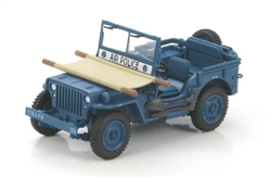 US Willys 1/4 Ton Jeep - USAF Air Police, 1950s