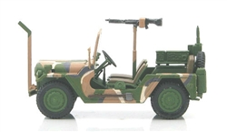 US M151A2 MUTT Military Utility Tactical Truck - 82nd Airborne Division