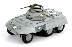 US M8 Light Armored Car - C Company, 2nd Cavalry, 3rd Army, Belgium, January 1945