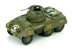 US M8 Light Armored Car - Conan, 82nd Armored Recon. Battalion, 2nd Armored Division, Northwest Europe, 1944