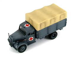 German Opel Blitz Ambulance Truck - Sanitatsabteilung (Medical Detachment), 30.Infanterie Divison, Russia, Autumn 1941
