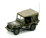 USAF Willys Radio Jeep - Unidentified Unit, Korea, 1950