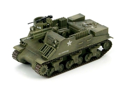 US M7 Priest Self-Propelled Gun - A Battery, 231st Armored Field Artillery Battalion, 6th Armored Division, Western Front, 1944