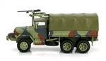 Republic of China (Taiwanese) M35 2-1/2-Ton Cargo Truck with M60 Machine Gun - Summer Verdant MERDC Camouflage