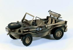 German VW-166 Schwimmwagen - Officer's Version